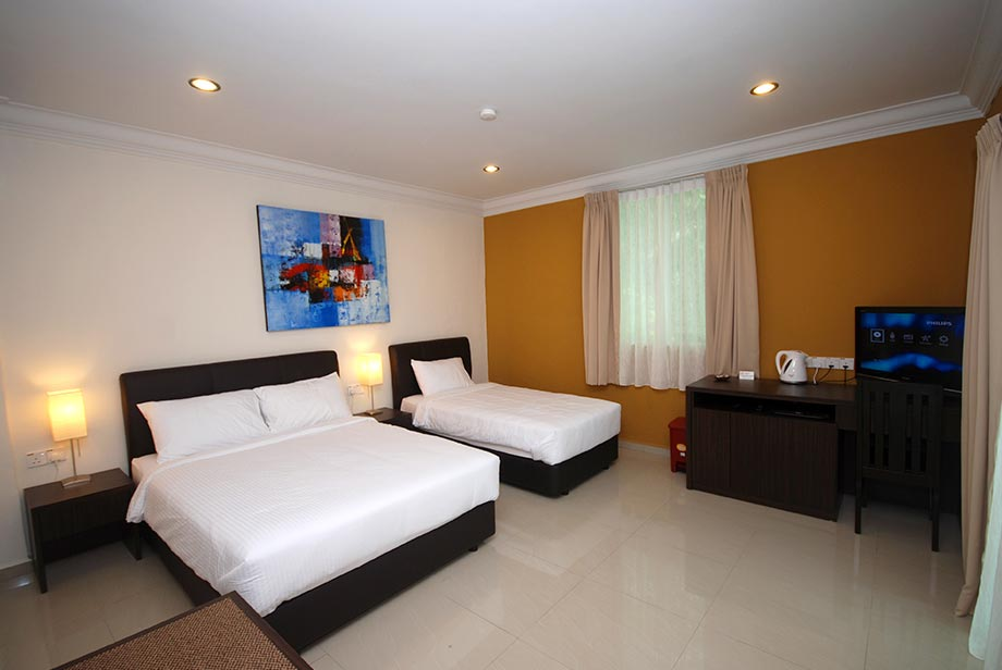 Triple Deluxe Room - Tioman Dive Resort